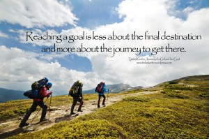 journey to get there